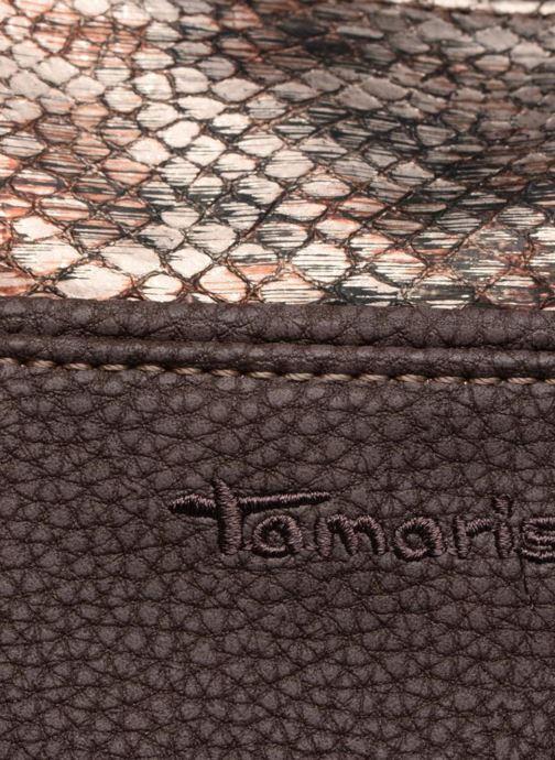Handtassen Tamaris KHEMA Shoulder bag Bruin links