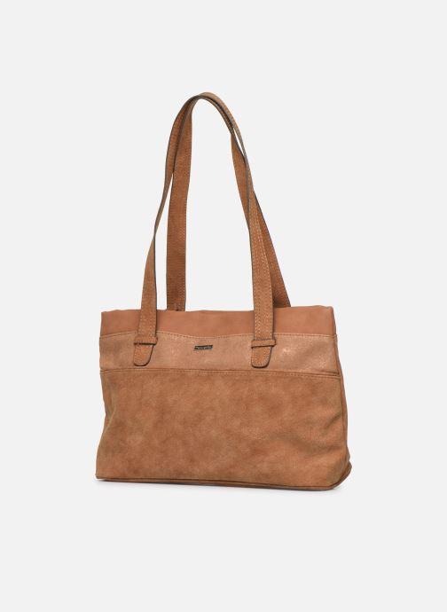 Bolsos de mano Tamaris KHEMA Shoulder bag Marrón vista del modelo