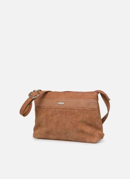 Handtaschen Tamaris KHEMA Crossbody bag S braun schuhe getragen