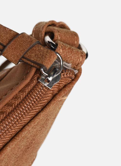 Handtaschen Tamaris KHEMA Crossbody bag S braun ansicht von links