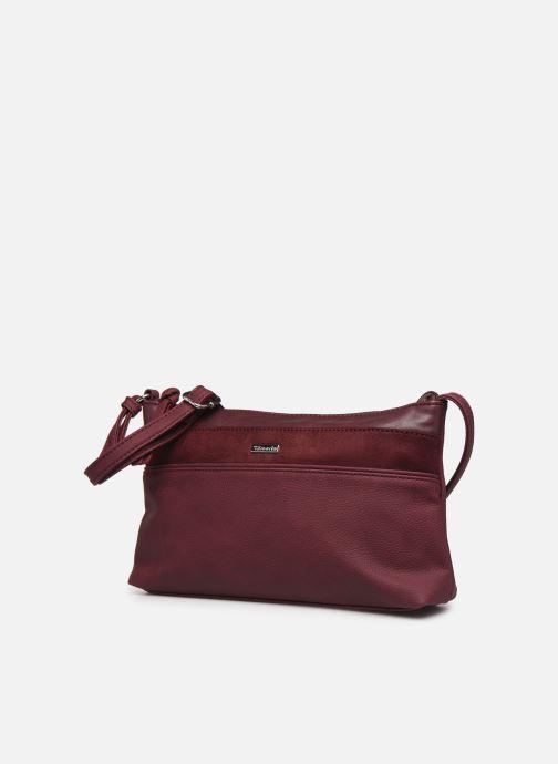 Bolsos de mano Tamaris KHEMA Crossbody bag S Vino vista del modelo