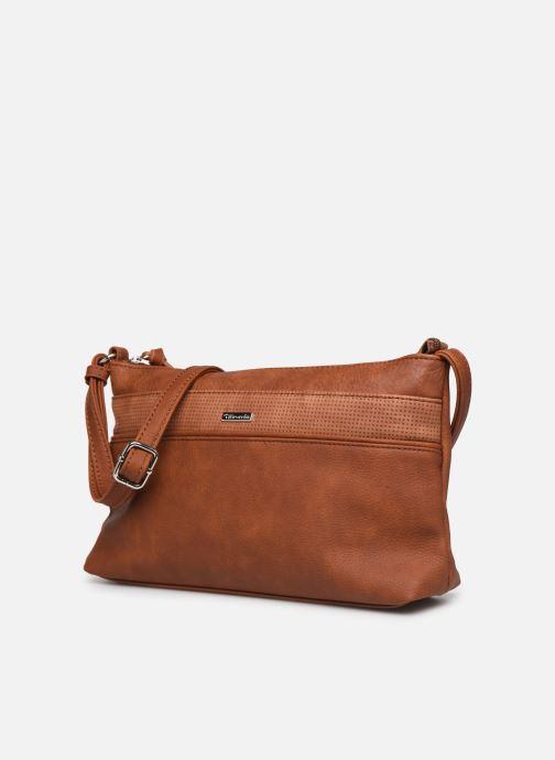 Handbags Tamaris KHEMA Crossbody bag S Brown model view