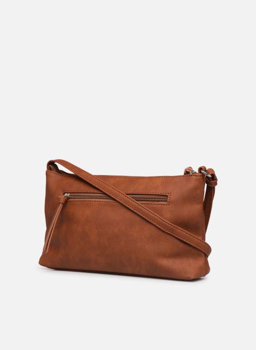 Handbags Tamaris KHEMA Crossbody bag S Brown view from the right