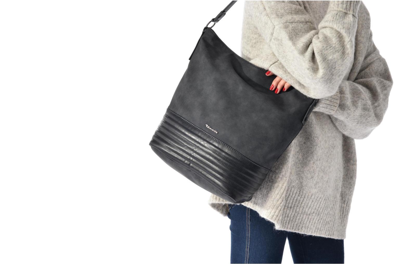 Handtassen Tamaris CARLA Hobo bag Zwart boven