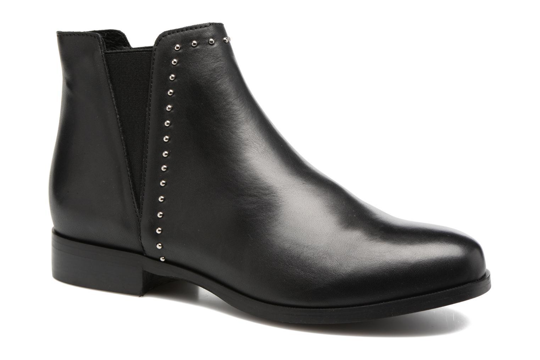 Bottines et boots Georgia Rose Soclou Noir vue détail/paire