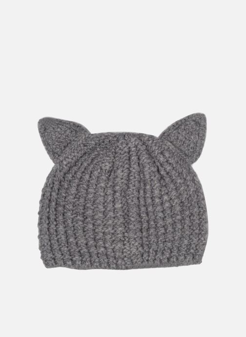 Mütze KARL LAGERFELD Chouppette Luxury Beanie grau schuhe getragen