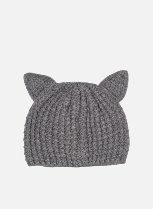 Beanie KARL LAGERFELD Chouppette Luxury Beanie Grey model view