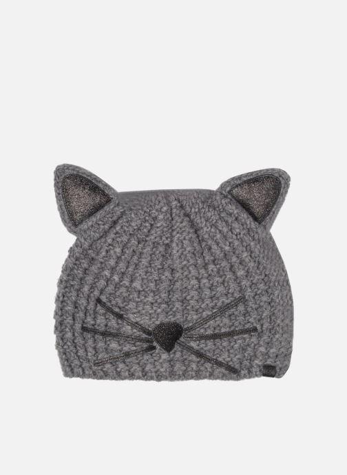 Mütze KARL LAGERFELD Chouppette Luxury Beanie grau detaillierte ansicht/modell