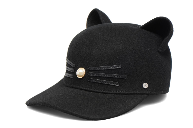Casquettes KARL LAGERFELD Cat Cap Pearl Noir vue détail/paire