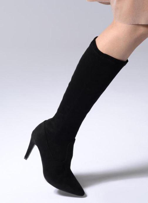 Stiefel Georgia Rose Thupa schwarz ansicht von unten / tasche getragen