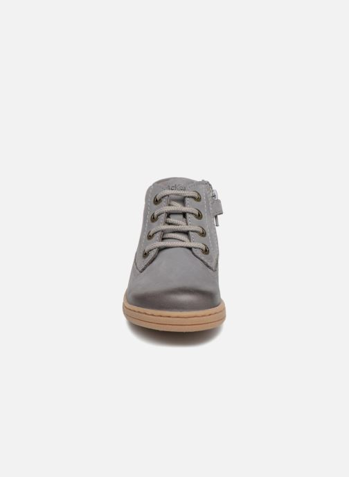 Bottines et boots Kickers Tackland Gris vue portées chaussures