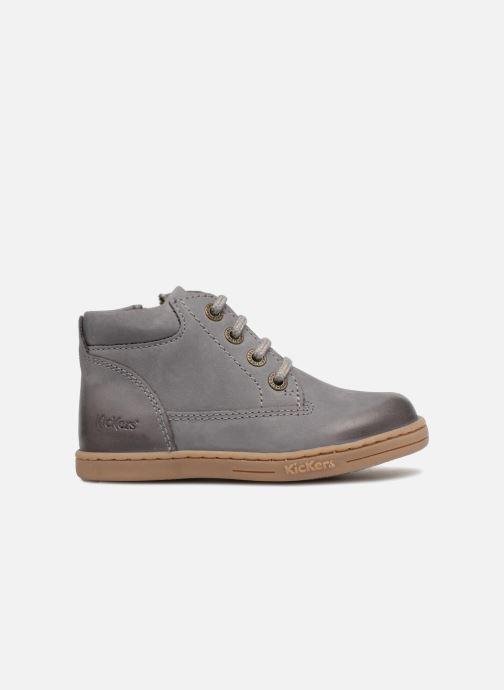 Boots en enkellaarsjes Kickers Tackland Grijs achterkant