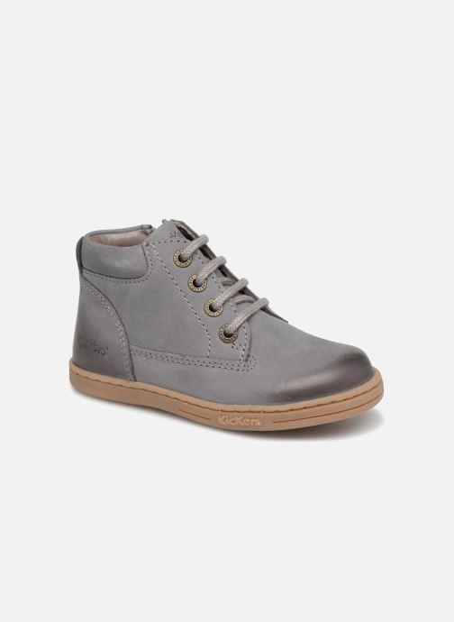 Bottines et boots Kickers Tackland Gris vue détail/paire
