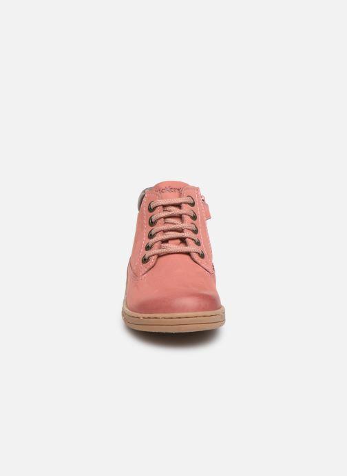 Bottines et boots Kickers Tackland Rose vue portées chaussures