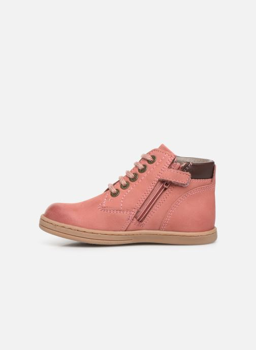 Bottines et boots Kickers Tackland Rose vue face