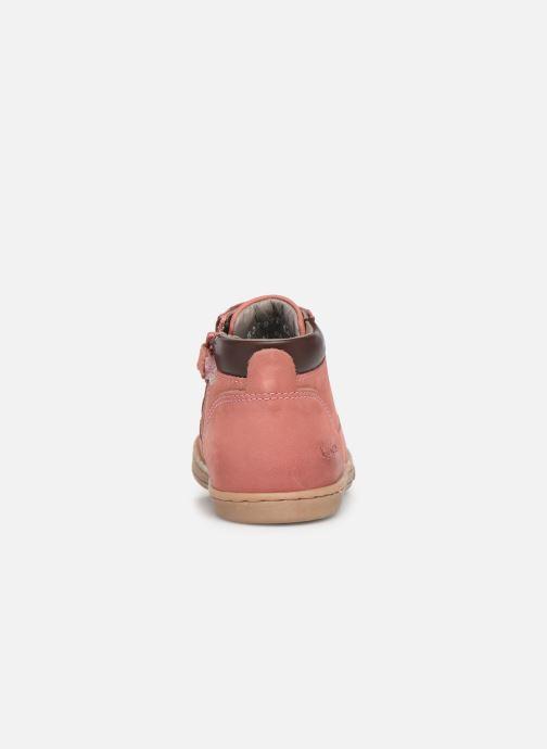 Boots en enkellaarsjes Kickers Tackland Roze rechts