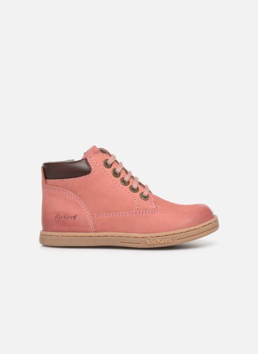 Boots en enkellaarsjes Kickers Tackland Roze achterkant