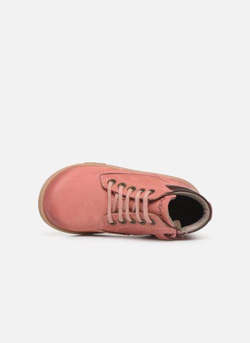 Boots en enkellaarsjes Kickers Tackland Roze links
