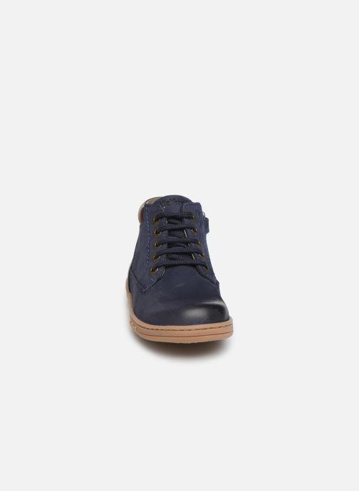 Bottines et boots Kickers Tackland Bleu vue portées chaussures