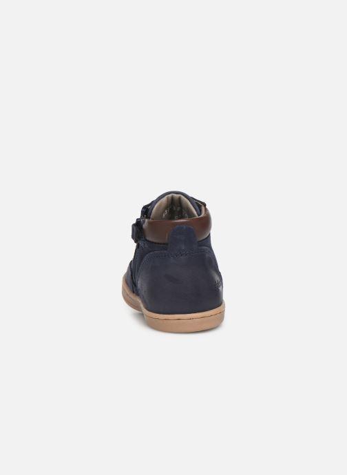 Boots en enkellaarsjes Kickers Tackland Blauw rechts