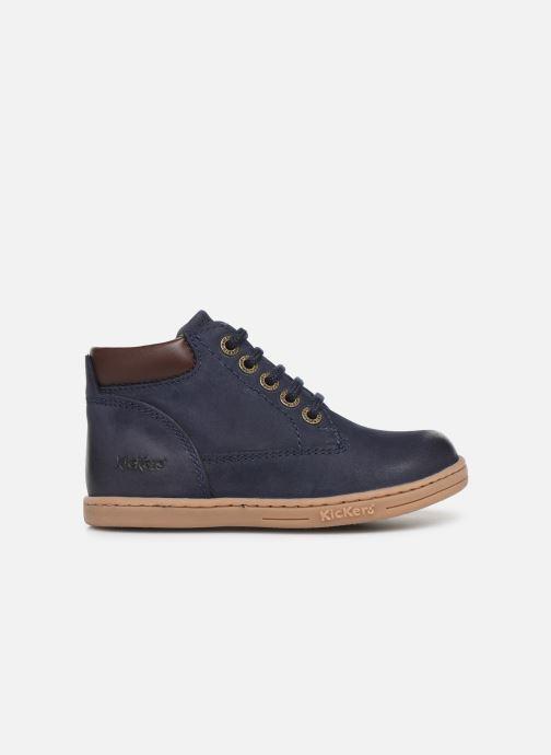 Boots en enkellaarsjes Kickers Tackland Blauw achterkant