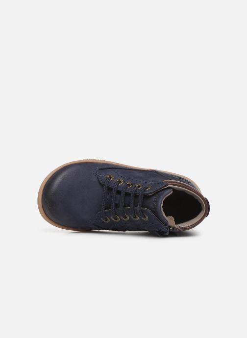 Bottines et boots Kickers Tackland Bleu vue gauche