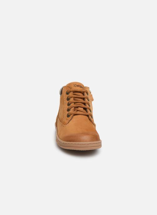 Bottines et boots Kickers Tackland Jaune vue portées chaussures