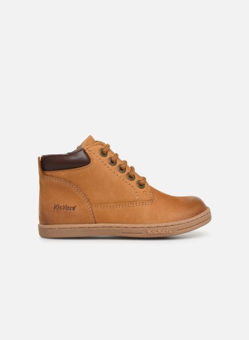 Boots en enkellaarsjes Kickers Tackland Geel achterkant