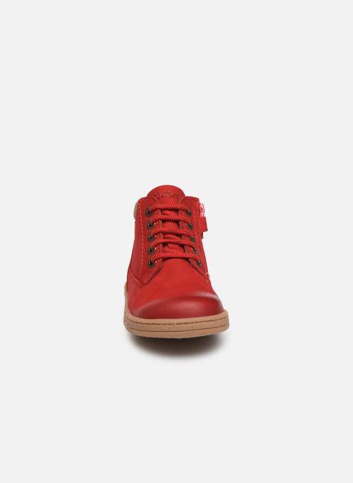 Bottines et boots Kickers Tackland Rouge vue portées chaussures