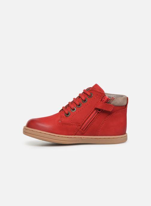 Boots en enkellaarsjes Kickers Tackland Rood voorkant