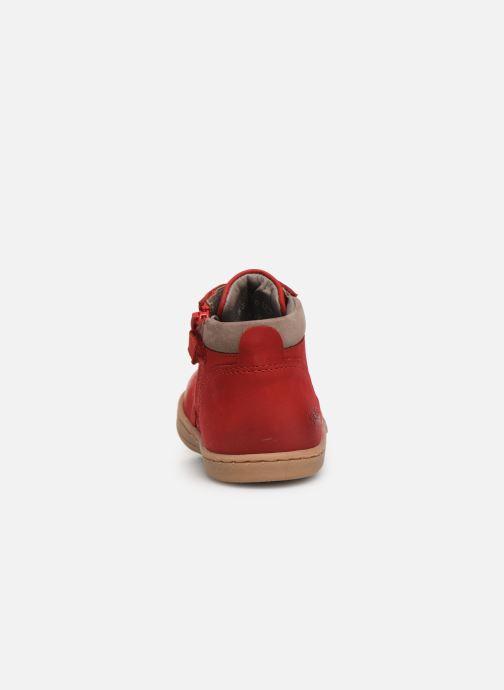 Boots en enkellaarsjes Kickers Tackland Rood rechts
