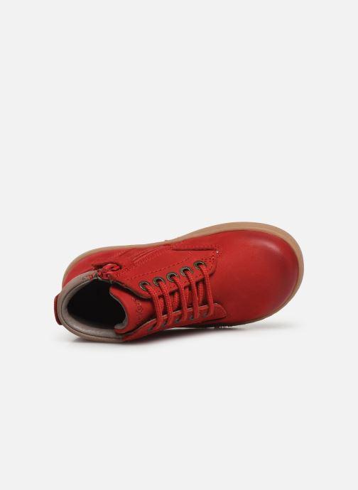 Boots en enkellaarsjes Kickers Tackland Rood links