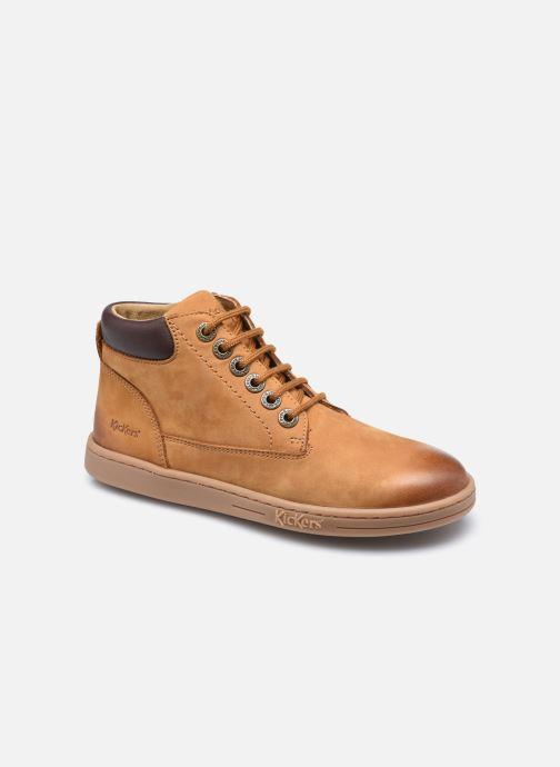 Stiefeletten & Boots Kickers Tackland braun detaillierte ansicht/modell