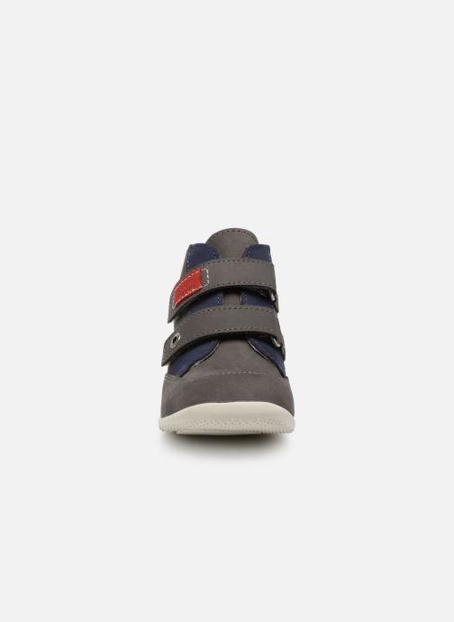 Bottines et boots Kickers Bartino Gris vue portées chaussures