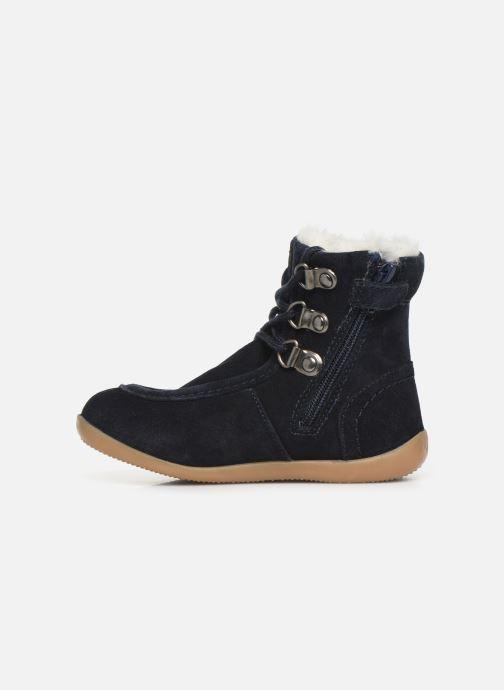 Bottines et boots Kickers Bamara Bleu vue face