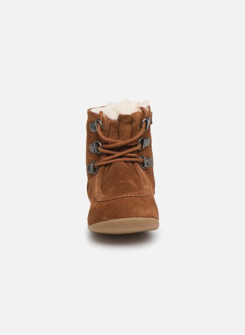 Stiefeletten & Boots Kickers Bamara braun schuhe getragen