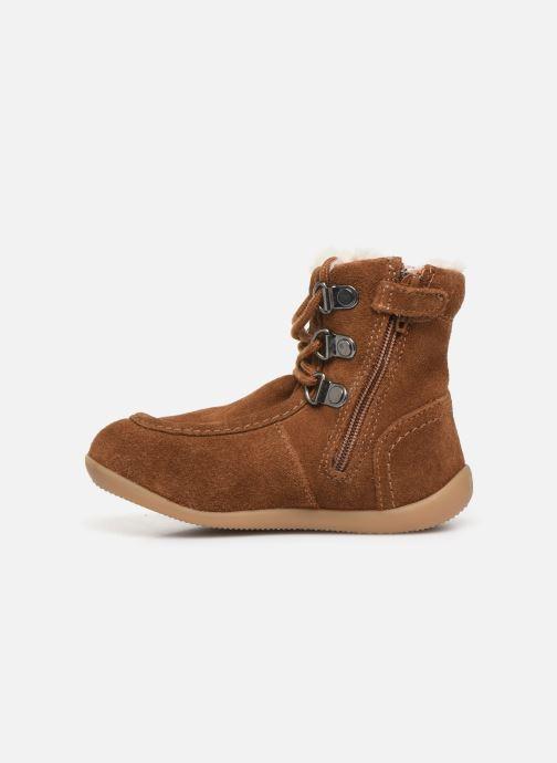 Boots en enkellaarsjes Kickers Bamara Bruin voorkant