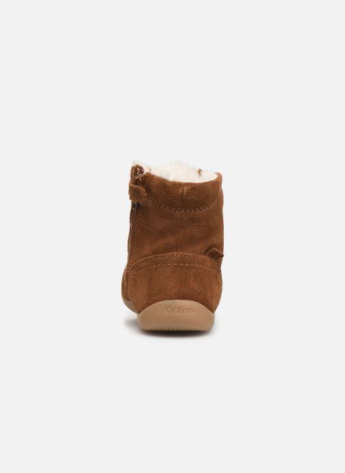 Boots en enkellaarsjes Kickers Bamara Bruin rechts
