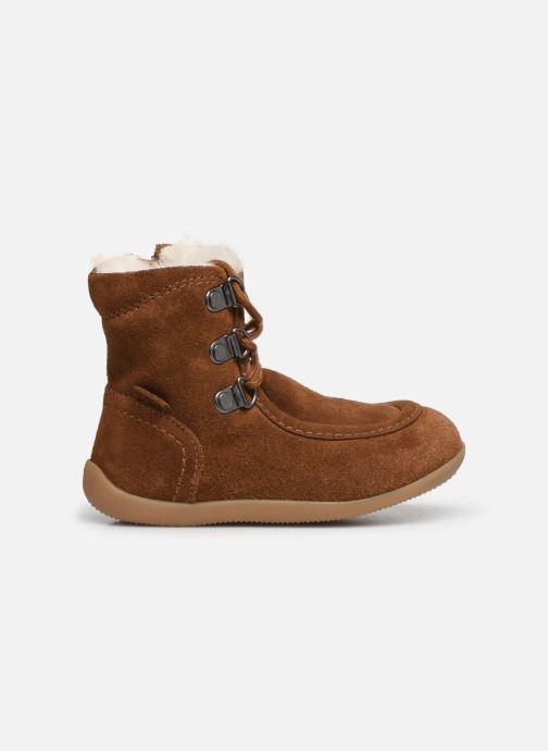 Boots en enkellaarsjes Kickers Bamara Bruin achterkant