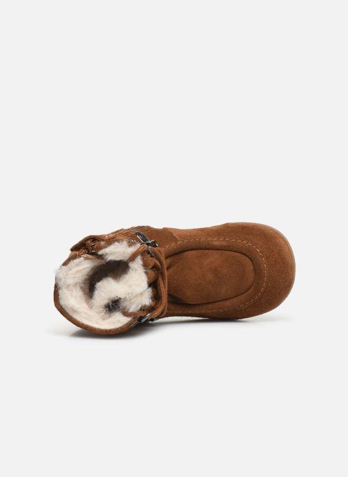 Boots en enkellaarsjes Kickers Bamara Bruin links
