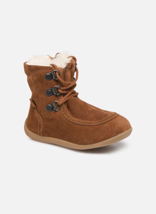 Boots en enkellaarsjes Kickers Bamara Bruin detail