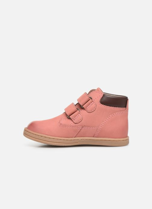 Bottines et boots Kickers Tackeasy Rose vue face