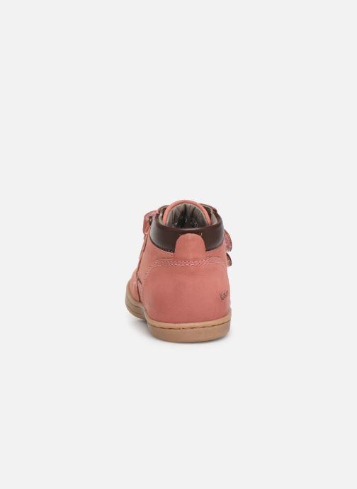 Stiefeletten & Boots Kickers Tackeasy rosa ansicht von rechts