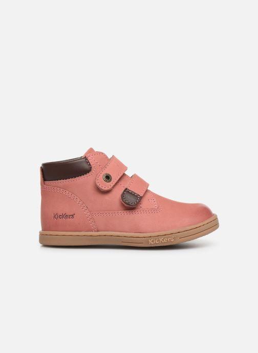 Stiefeletten & Boots Kickers Tackeasy rosa ansicht von hinten