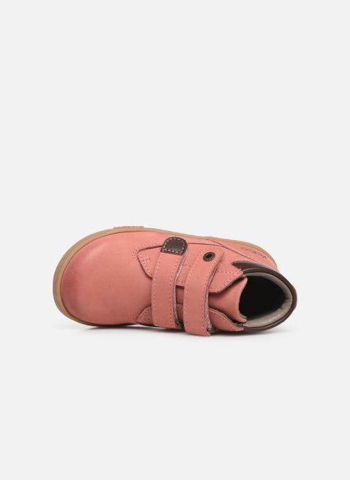 Stiefeletten & Boots Kickers Tackeasy rosa ansicht von links