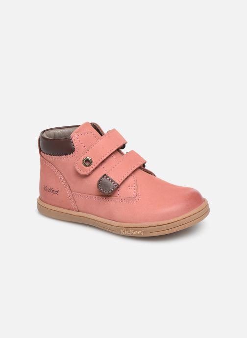 Bottines et boots Kickers Tackeasy Rose vue détail/paire