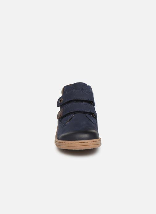 Bottines et boots Kickers Tackeasy Bleu vue portées chaussures