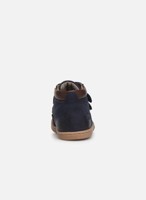 Boots en enkellaarsjes Kickers Tackeasy Blauw rechts