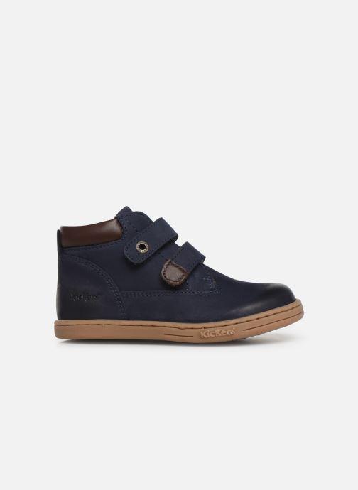 Boots en enkellaarsjes Kickers Tackeasy Blauw achterkant