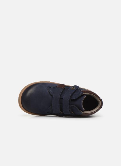 Bottines et boots Kickers Tackeasy Bleu vue gauche